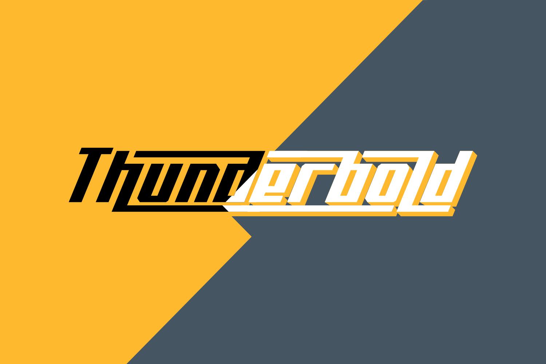 Thunderbold example image 1
