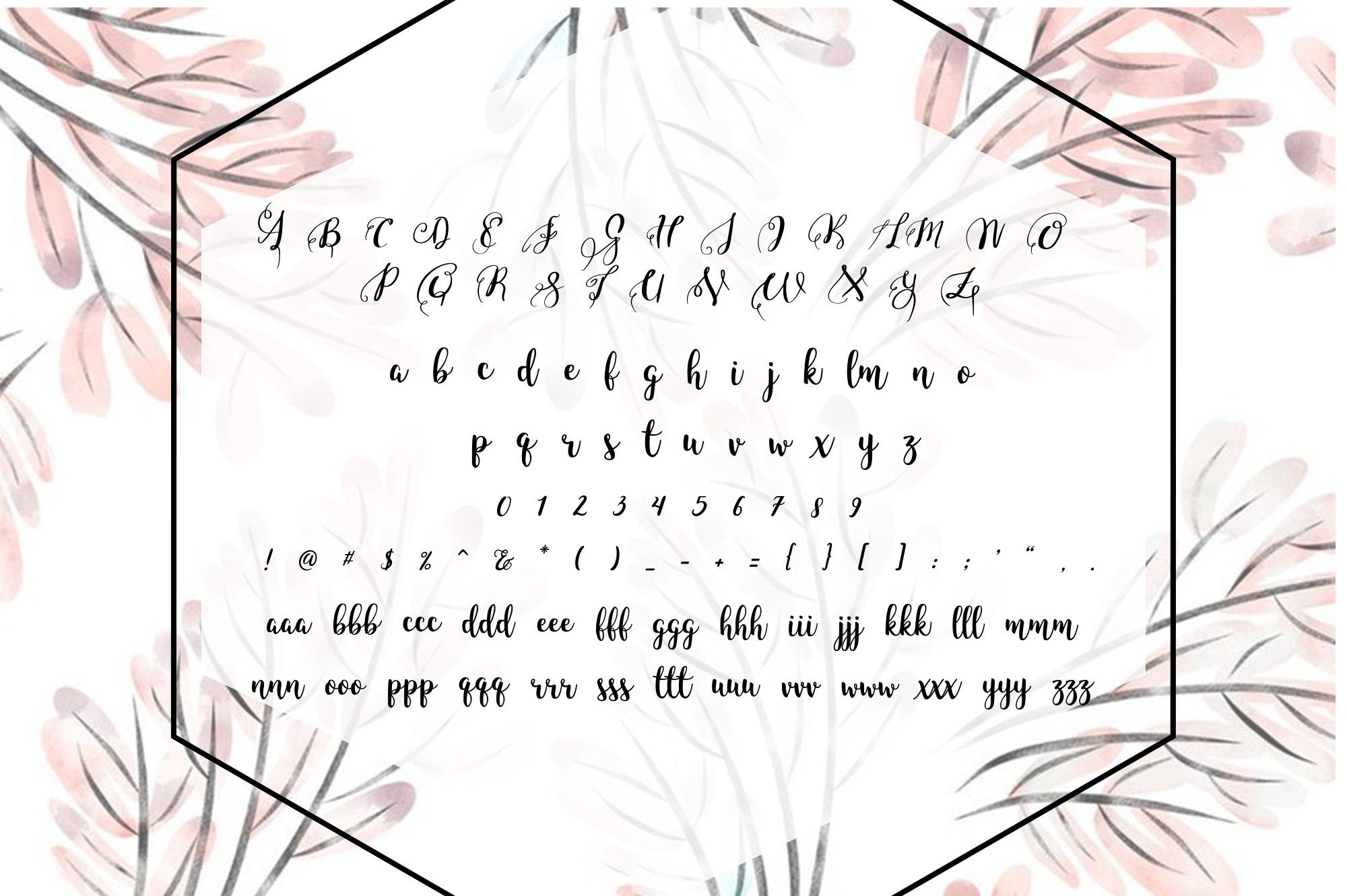 BLINDSPOTTING SCRIPT FONT example image 2