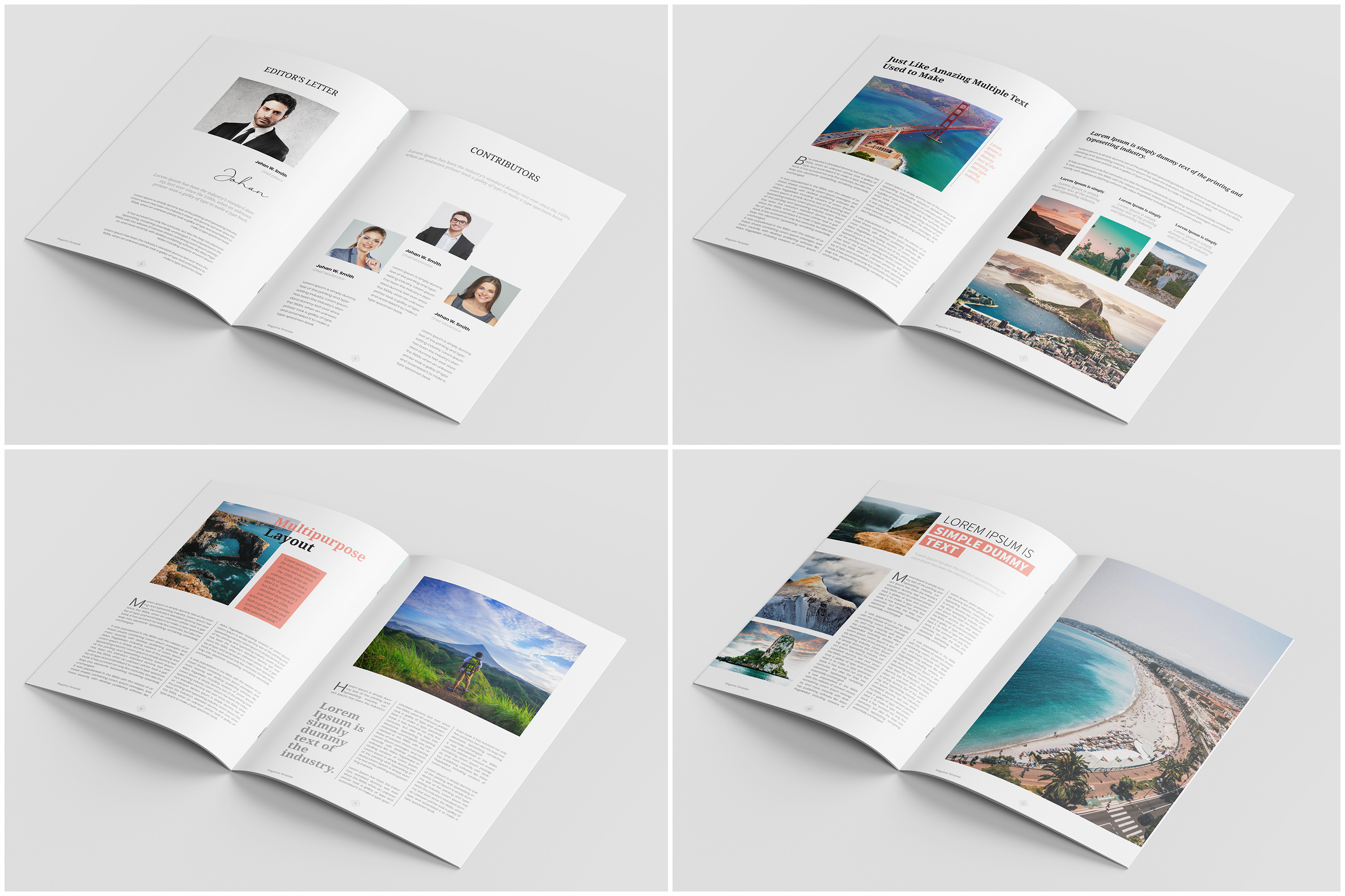 Travel Magazine Template example image 4