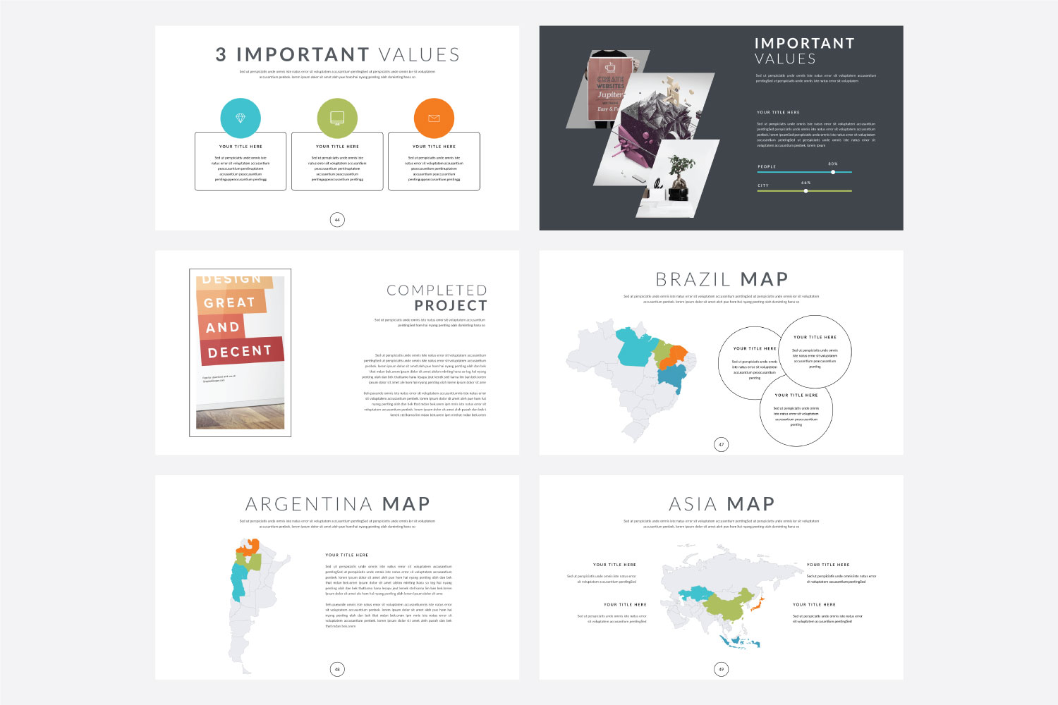 Phylox Powerpoint template example image 9