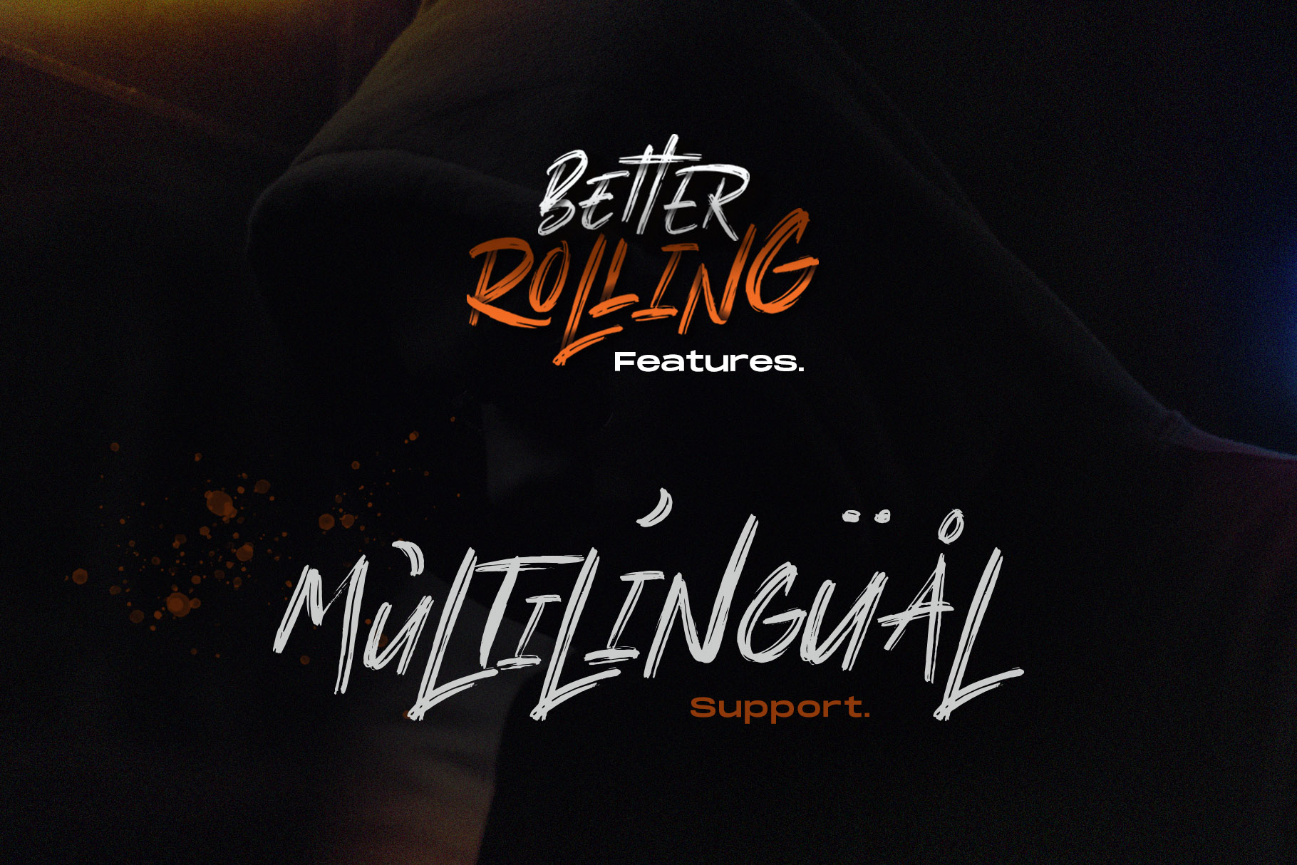 Better Rolling - Brush Font example image 11