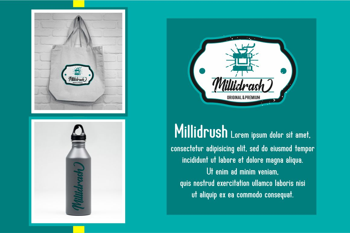 Milleniale Font Duo example image 3
