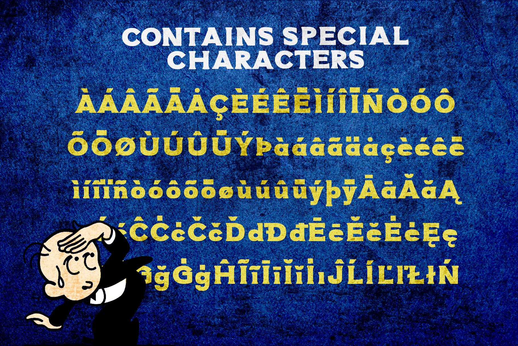 Atomic Typeface example image 4