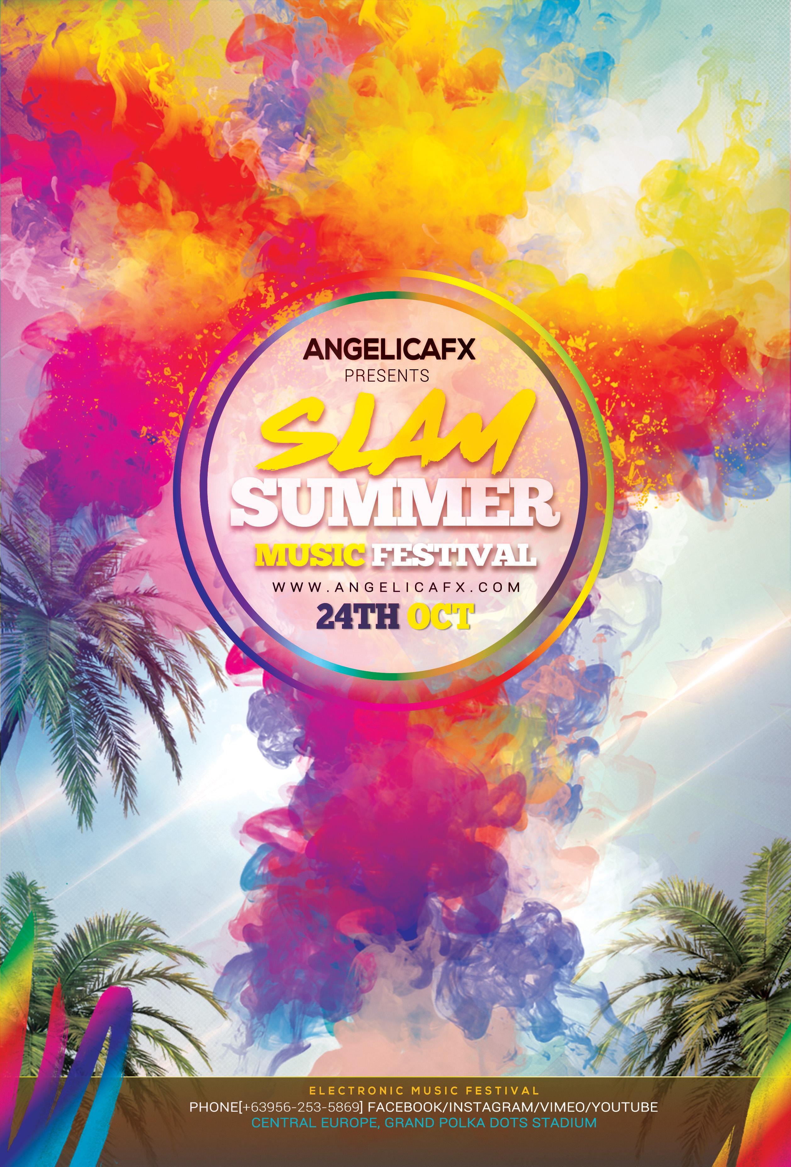 Slam Summer Fest Music Festival example image 2