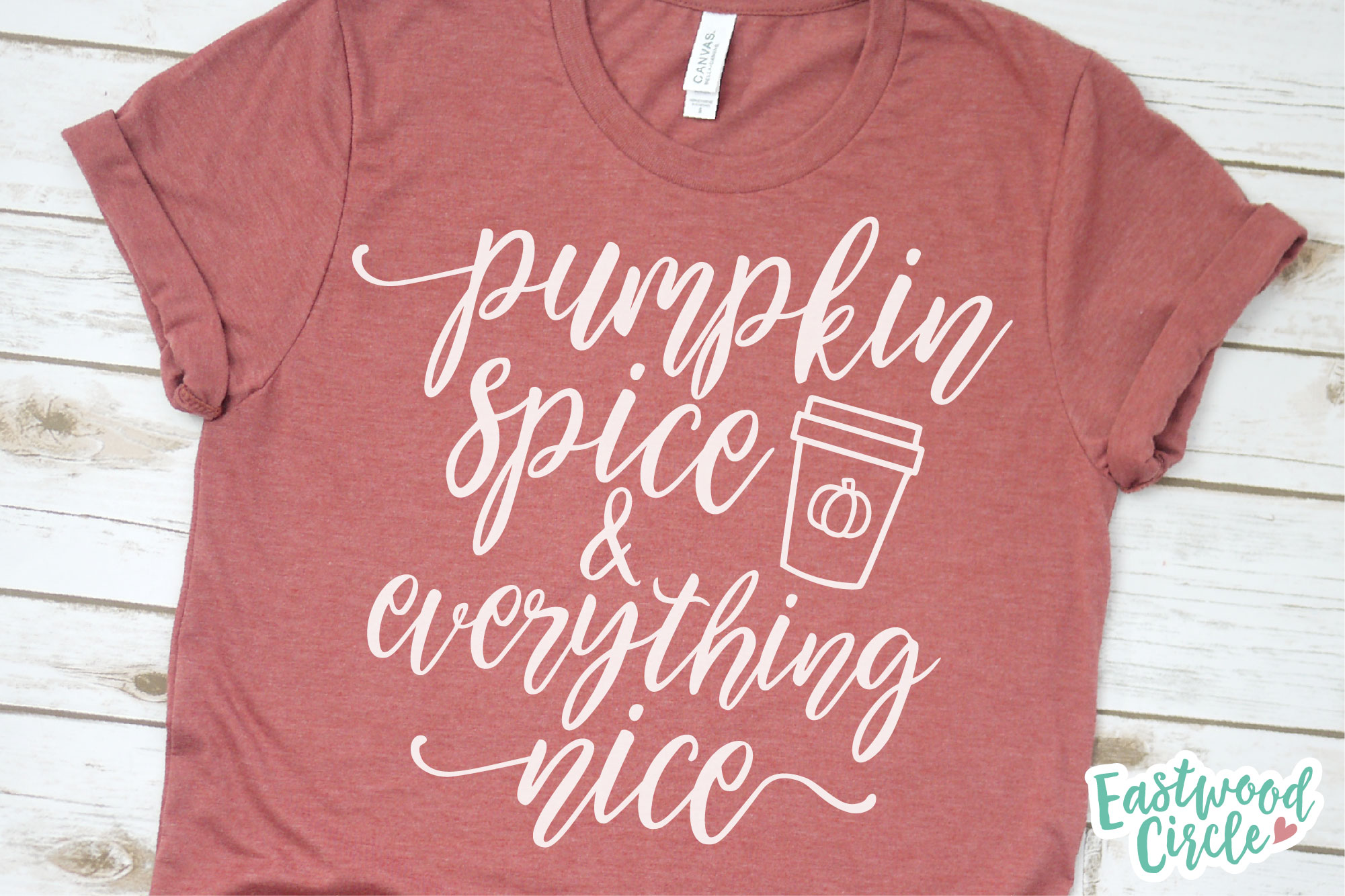 Pumpkin Spice and Everything Nice - Fall SVG for Crafters example image 2