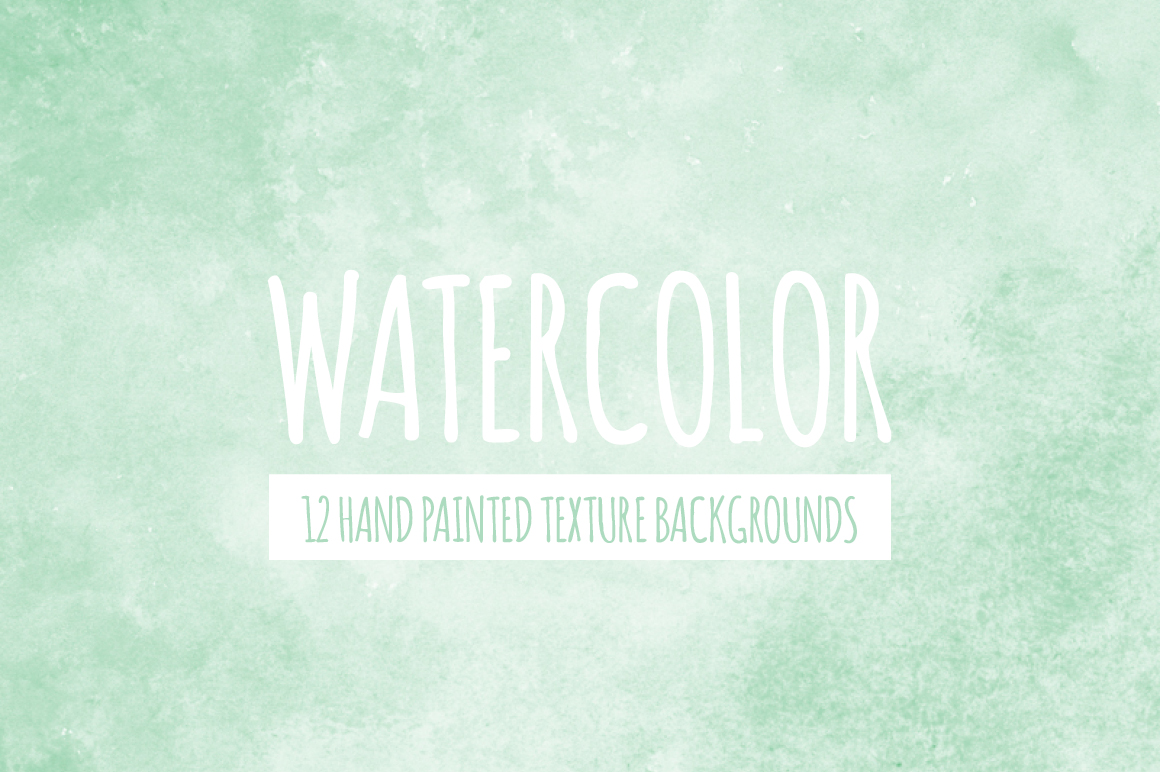 Mint Green Watercolor Texture Backgrounds example image 1