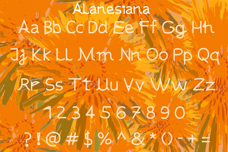 Alanesiana example image 2