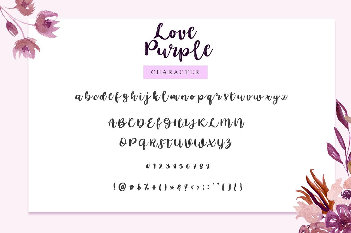 love purple example image 7