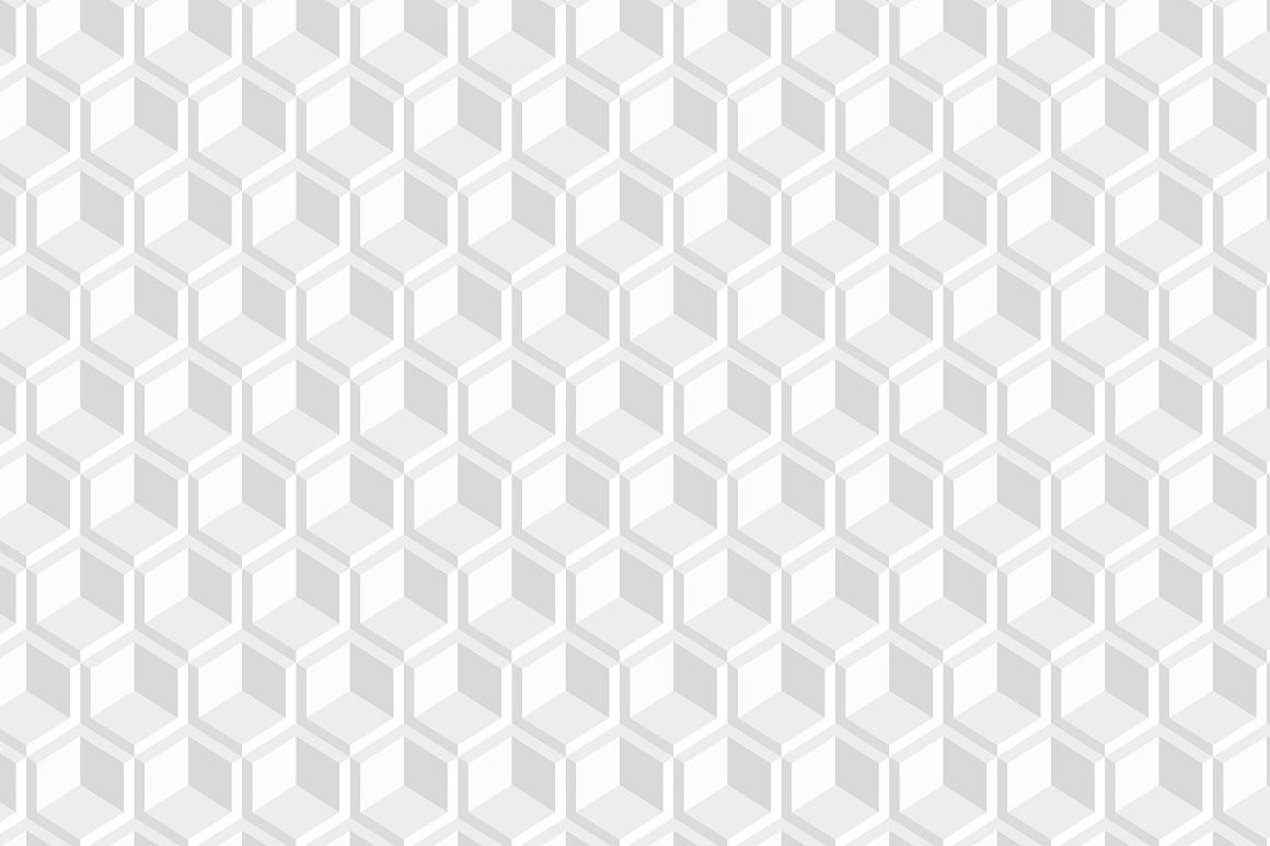 Decorative white seamless textures example image 4