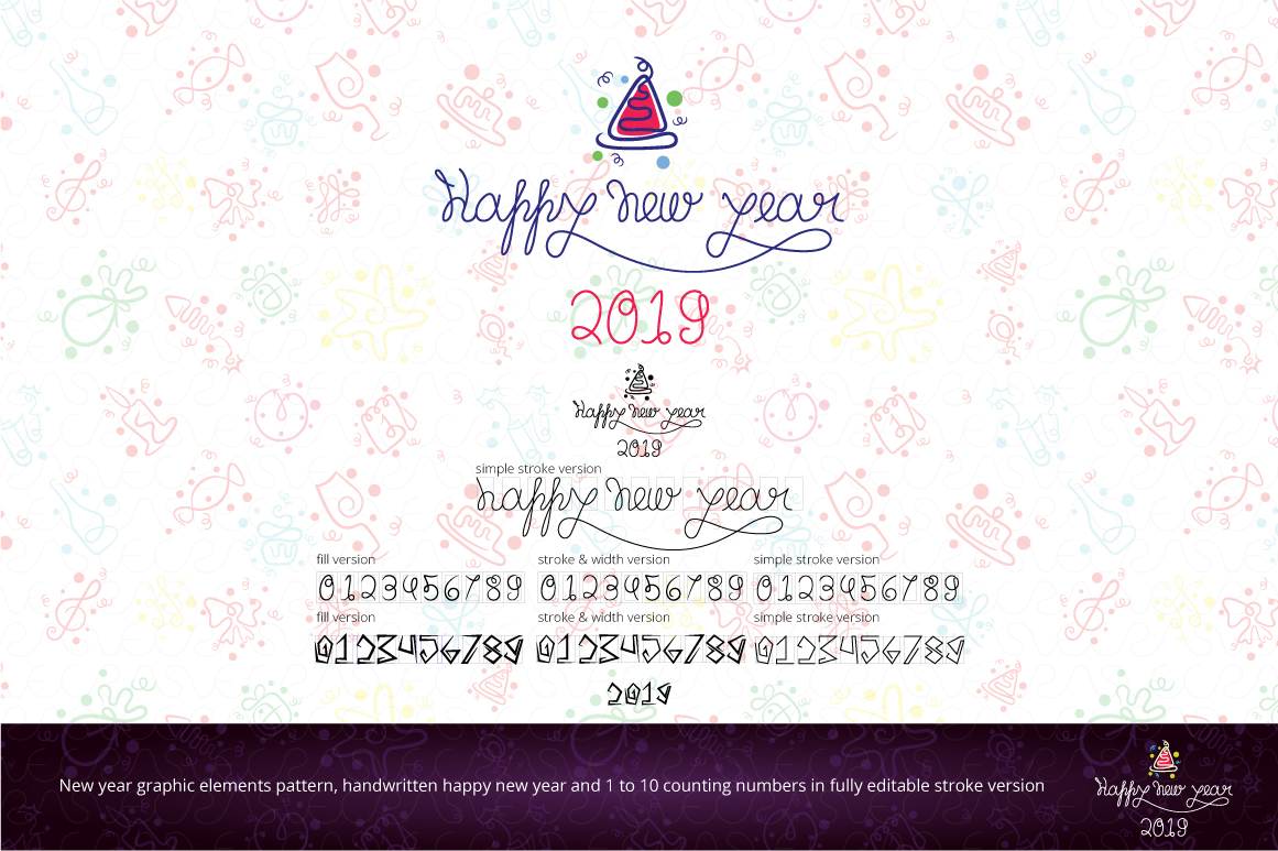 Christmas & New Year Bundle of Ornamental Mockups & Graphics example image 14