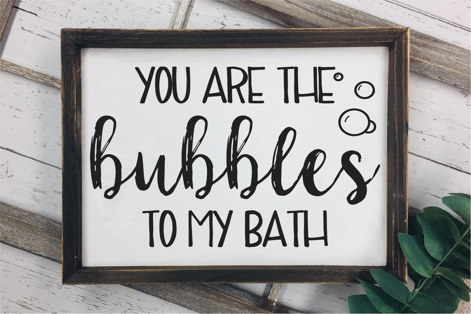 You Are The Bubbles To My Bath SVG, Love Sublimation example image 1