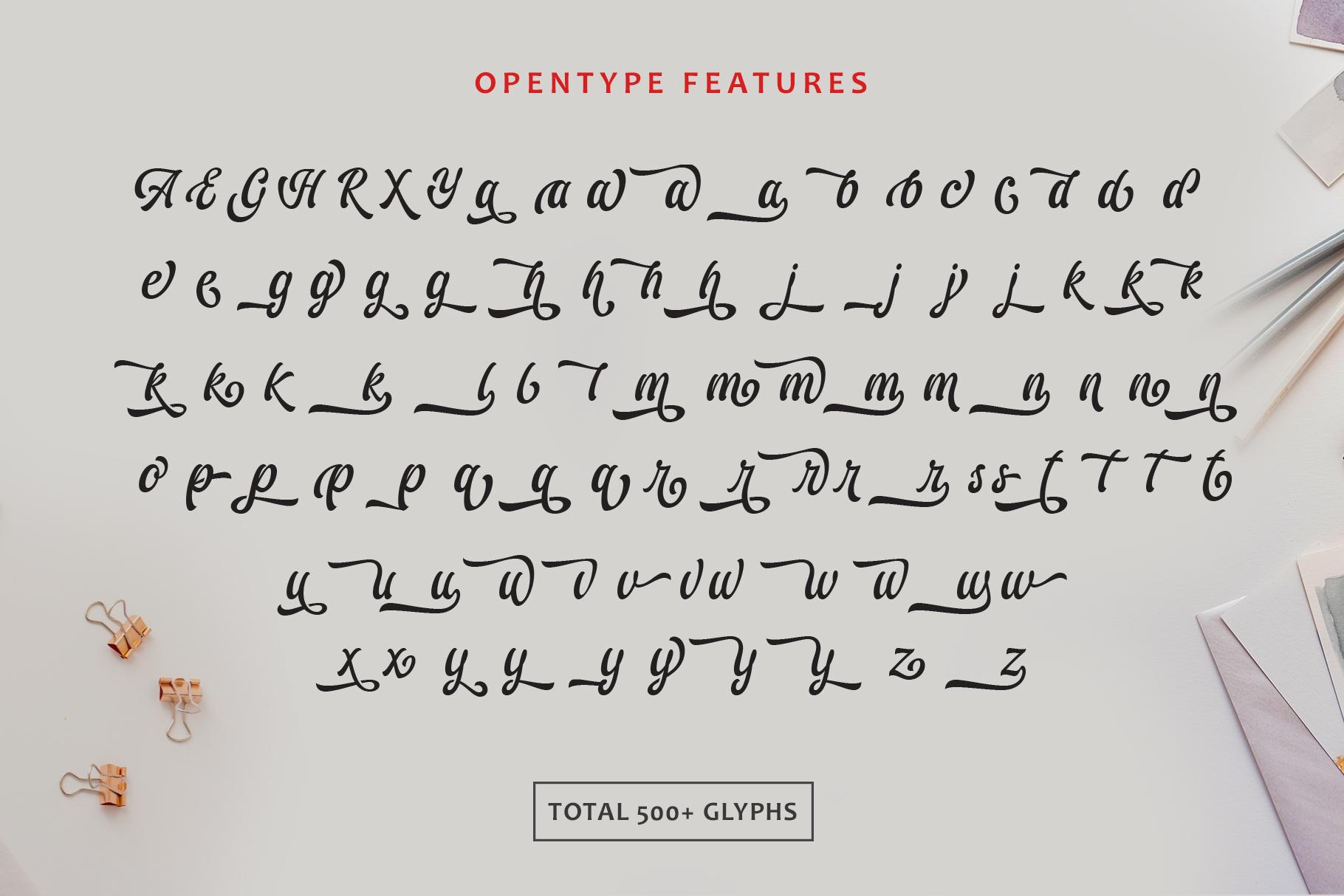 Ariestha Script example image 12