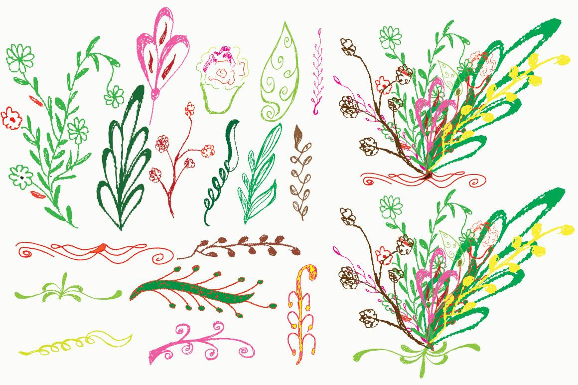 Flora vector example image 2