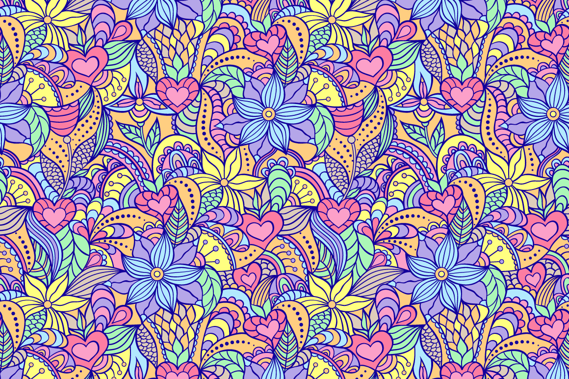 Floral patterns example image 2