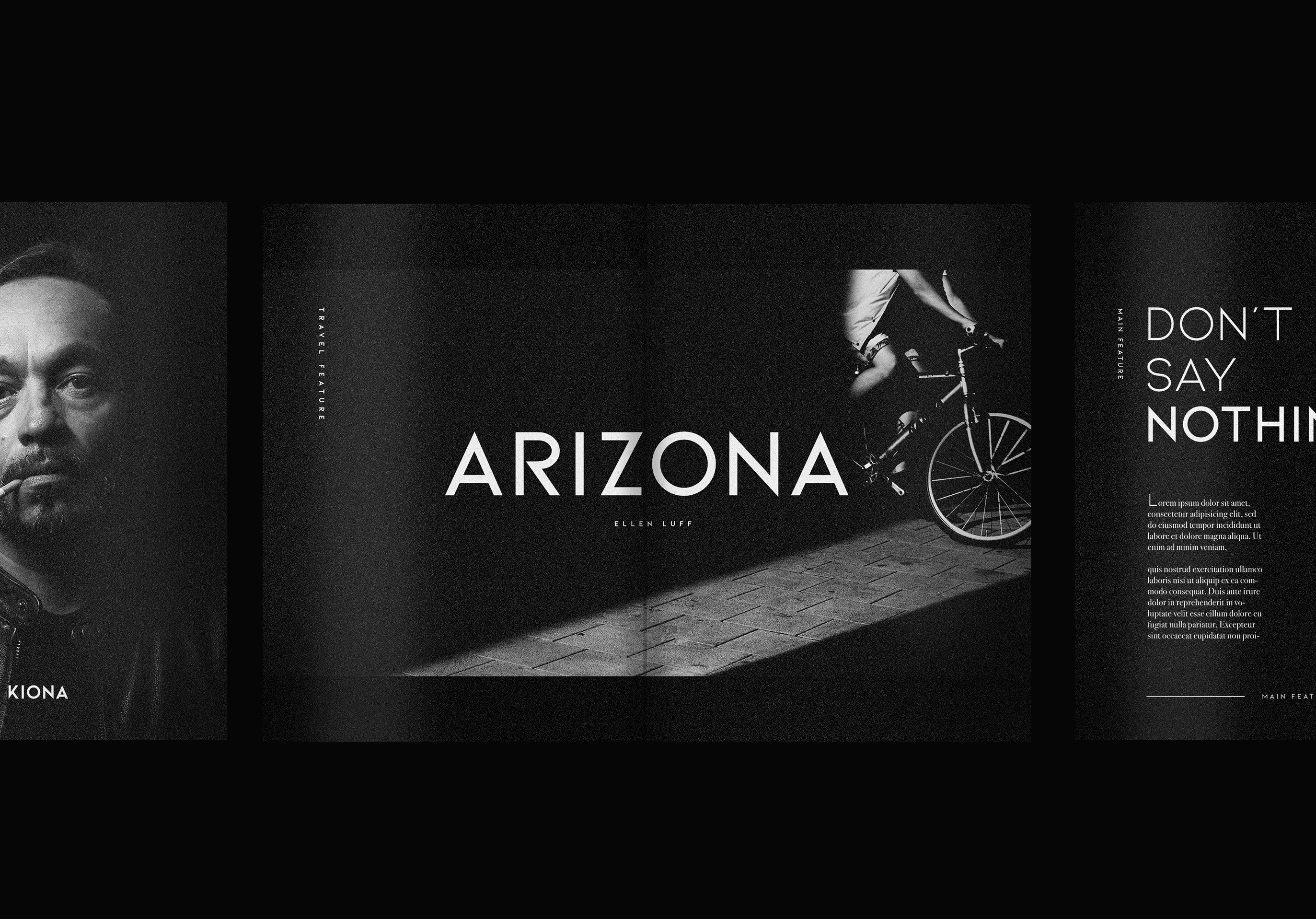 Kiona - A modern font example image 7