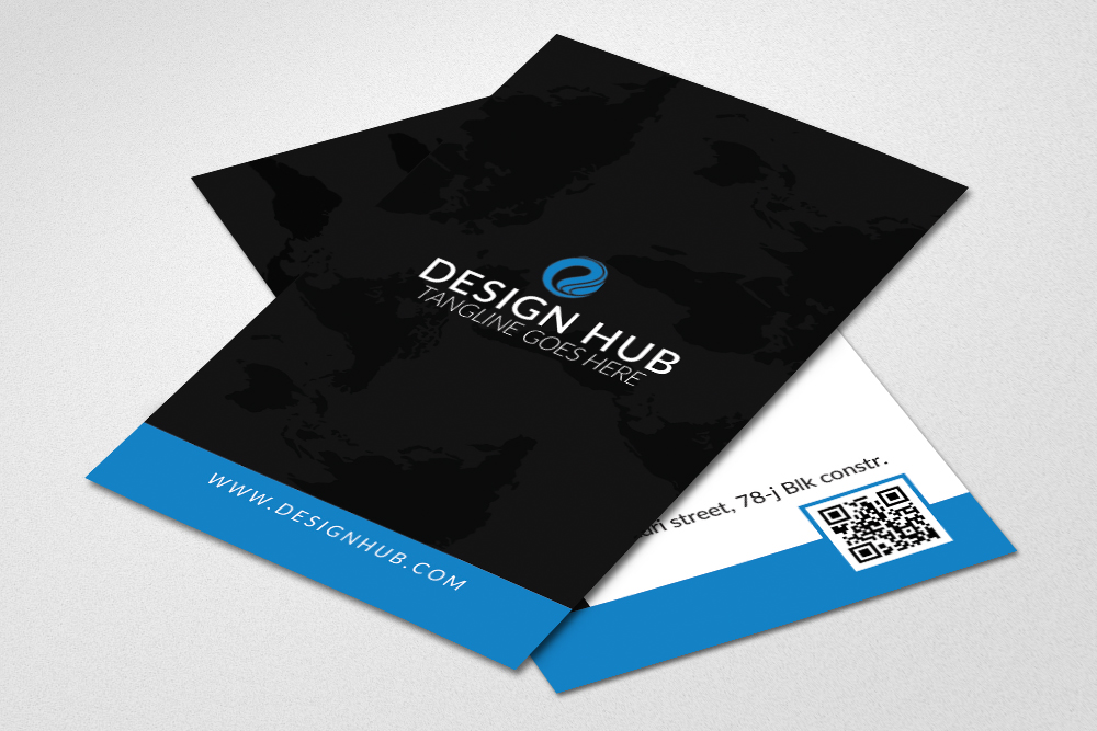Vertical Business Card example image 2