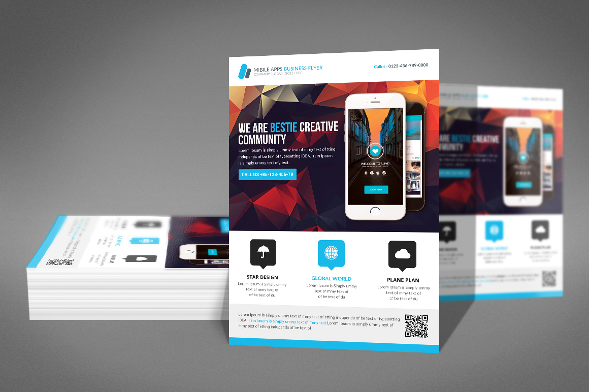 Corporate Flyer / Business Flyer Template example image 2