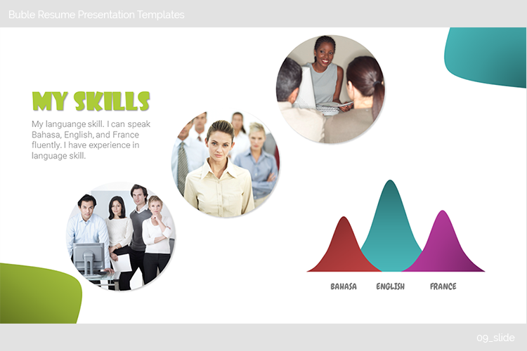Buble Resume Presentation Templates example image 10