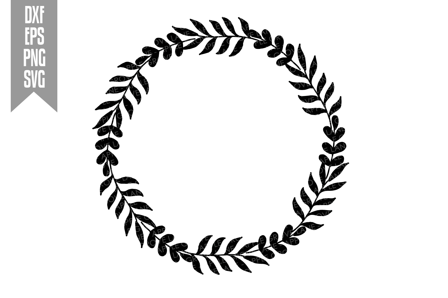 Wreath Svg Bundle - 6 designs included - Svg Cut Files example image 12