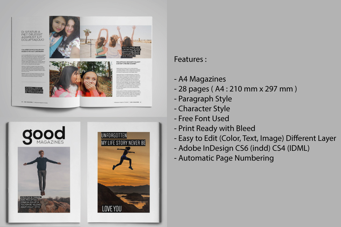 A4 Good Magazines example image 5