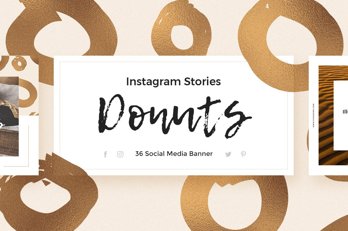 Donuts - Instagram Stories Pack example image 1