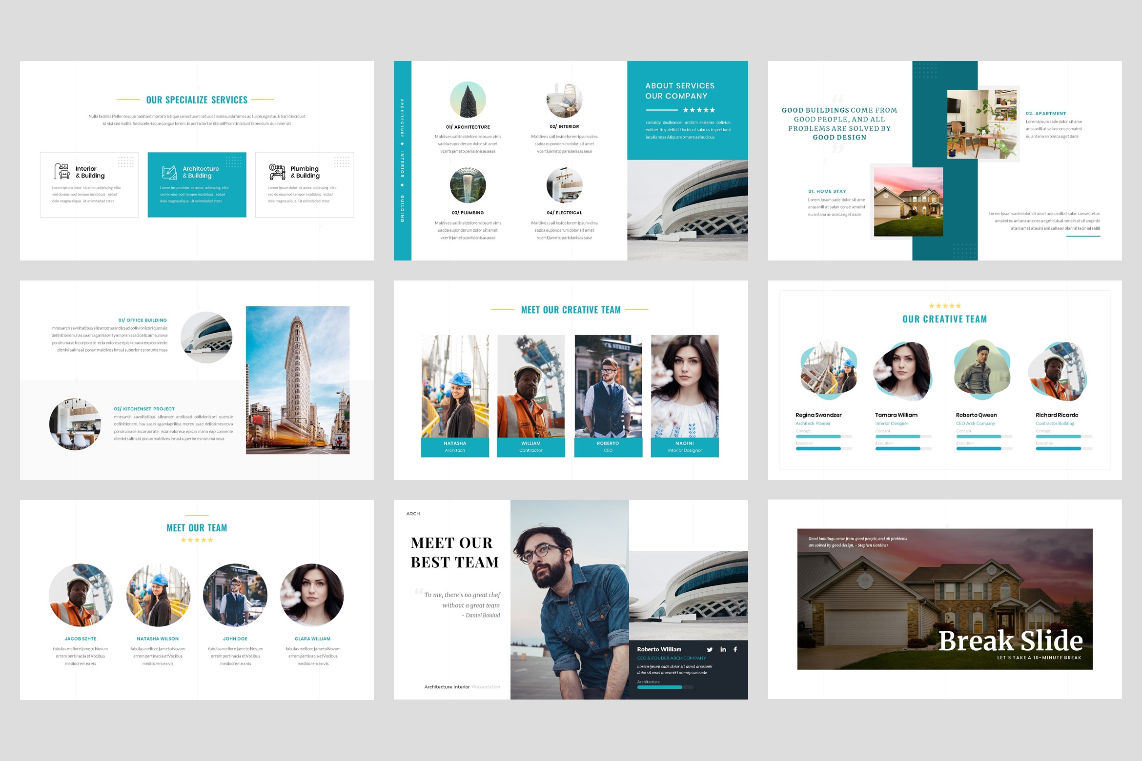 Architecture - Interior keynote Template example image 3
