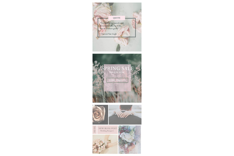 Social Media Templates/ Social Media Ads, Instagram Template example image 6