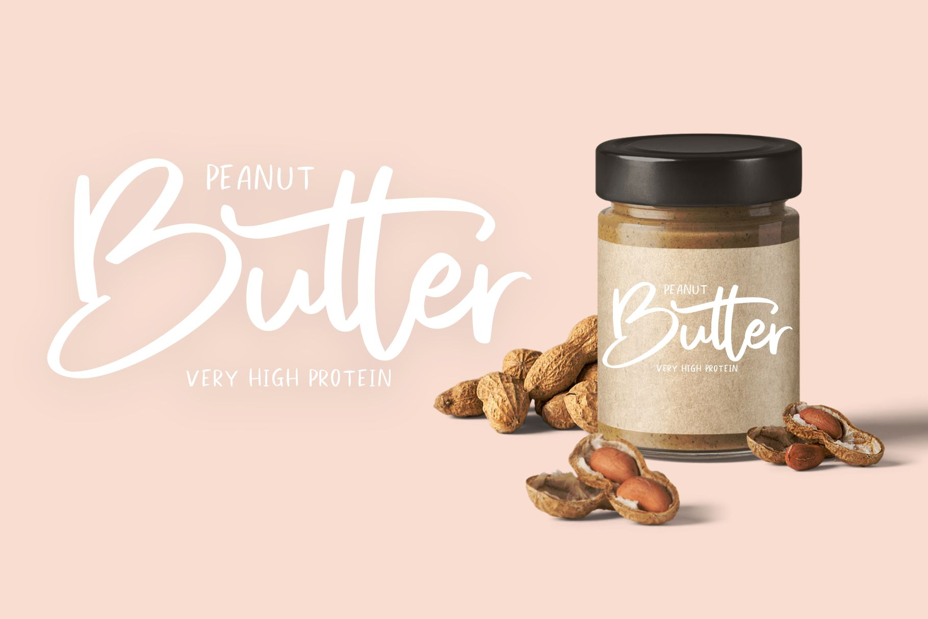 Sweet Buttermilk - Font Duo with Bonus example image 5