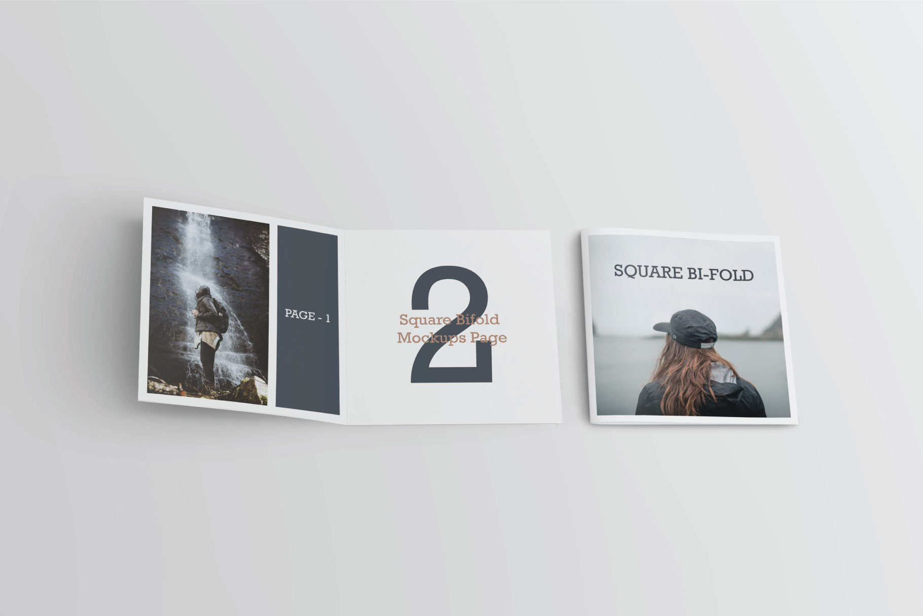 Square Greeting Card Mock-Ups example image 4