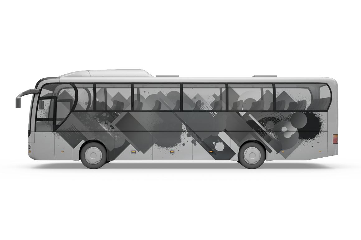 Bus Mockup example image 9