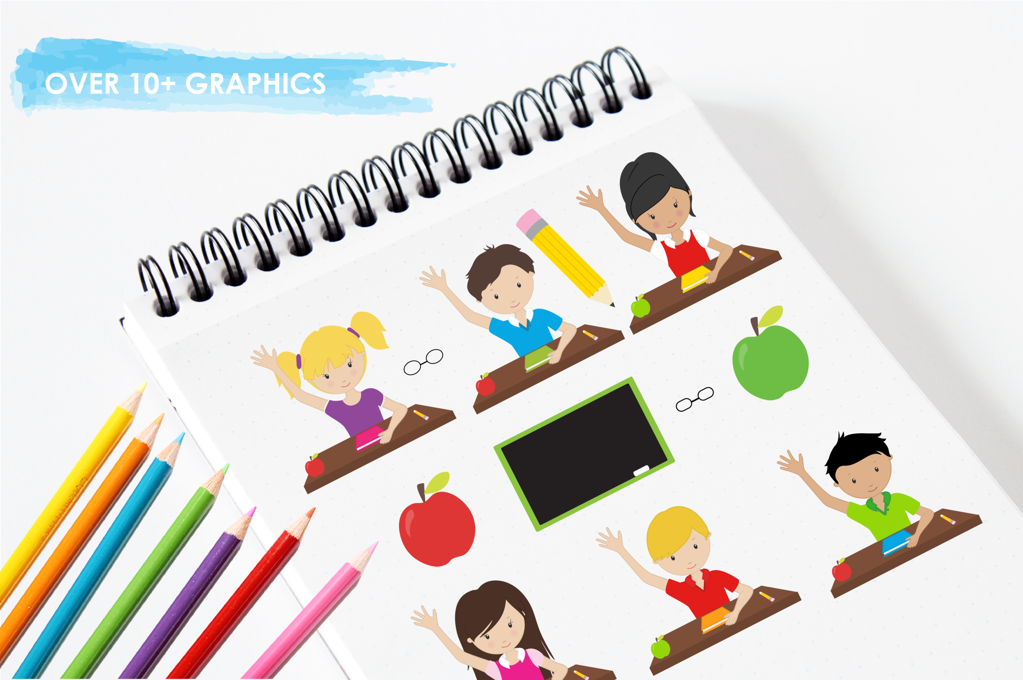 Classroom Fun graphics and illustrations example image 3