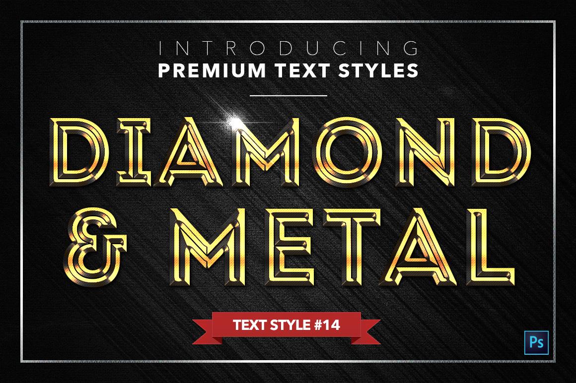 Diamond & Metal #2 - 16 Text Styles example image 15