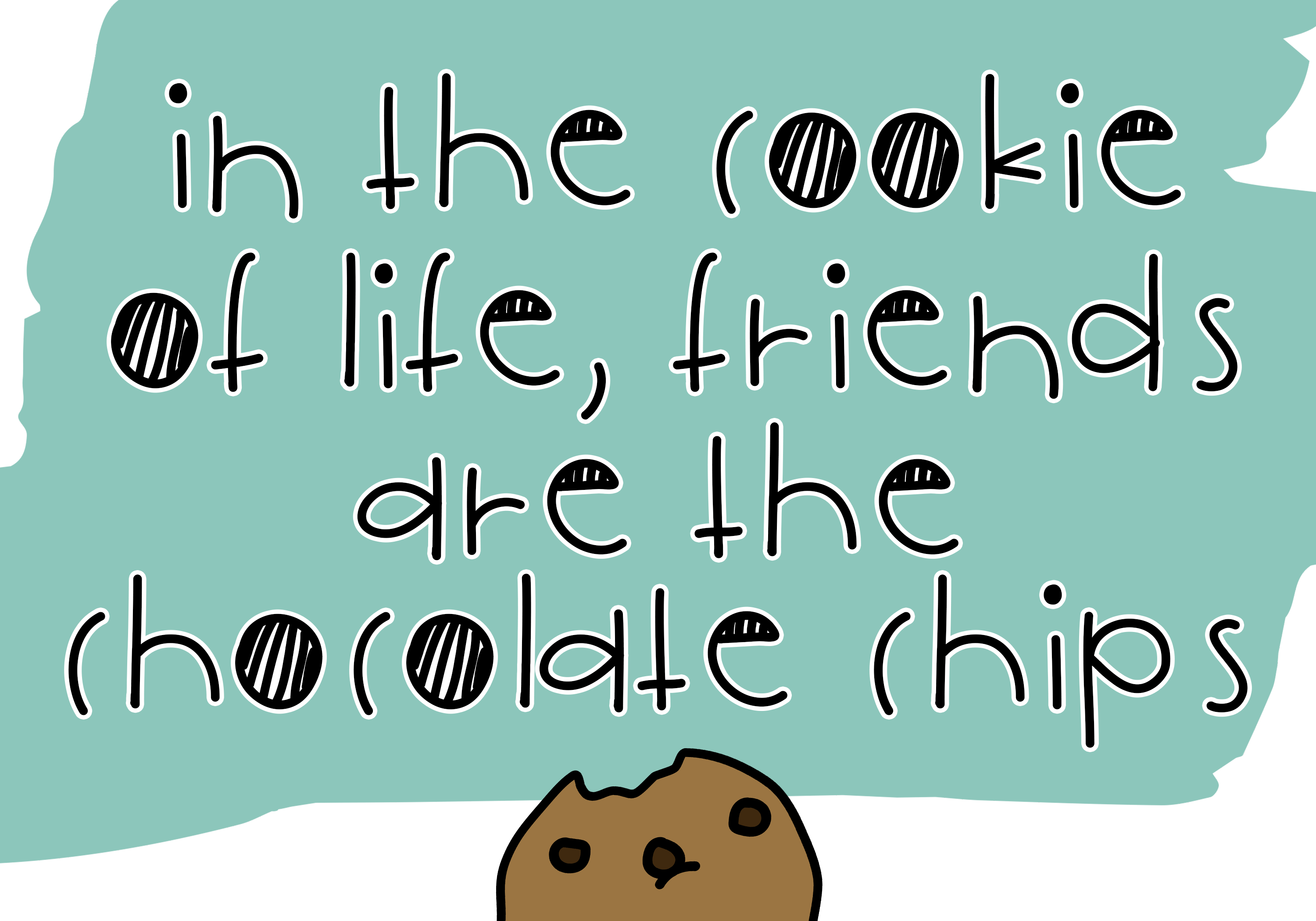 Cookie Monster - A Cute Handwritten Font example image 5