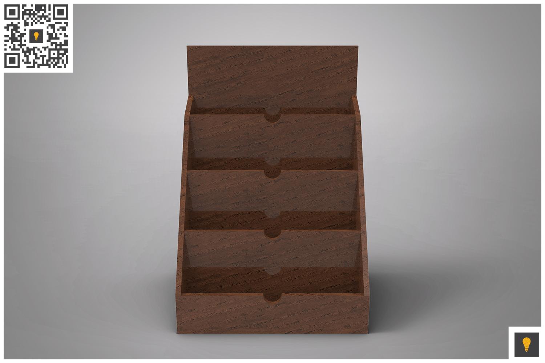 Business Card Holder 3D Render example image 8
