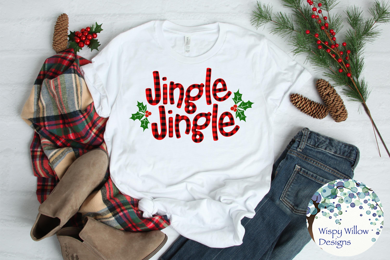 Buffalo Plaid Christmas Bundle SVG Cut Files example image 4