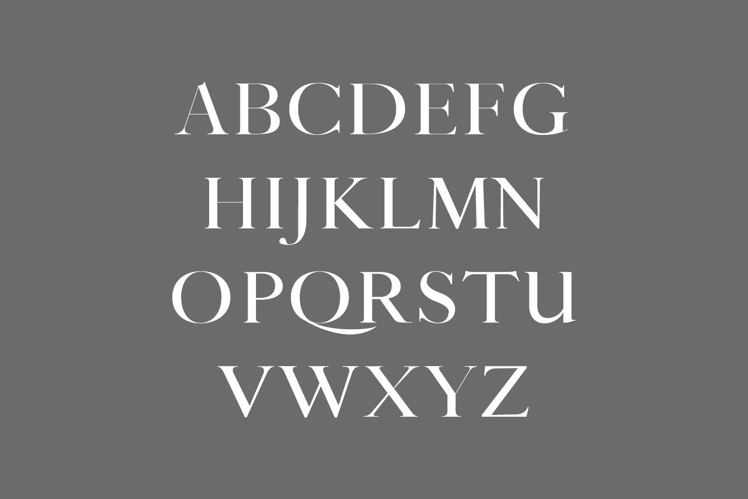 Thomas Craft A Modern Serif Typeface example image 2