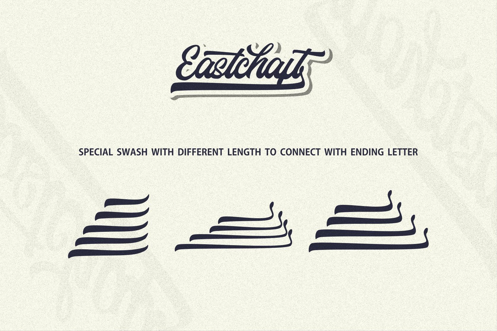 Eastchaft - Script Font example image 14