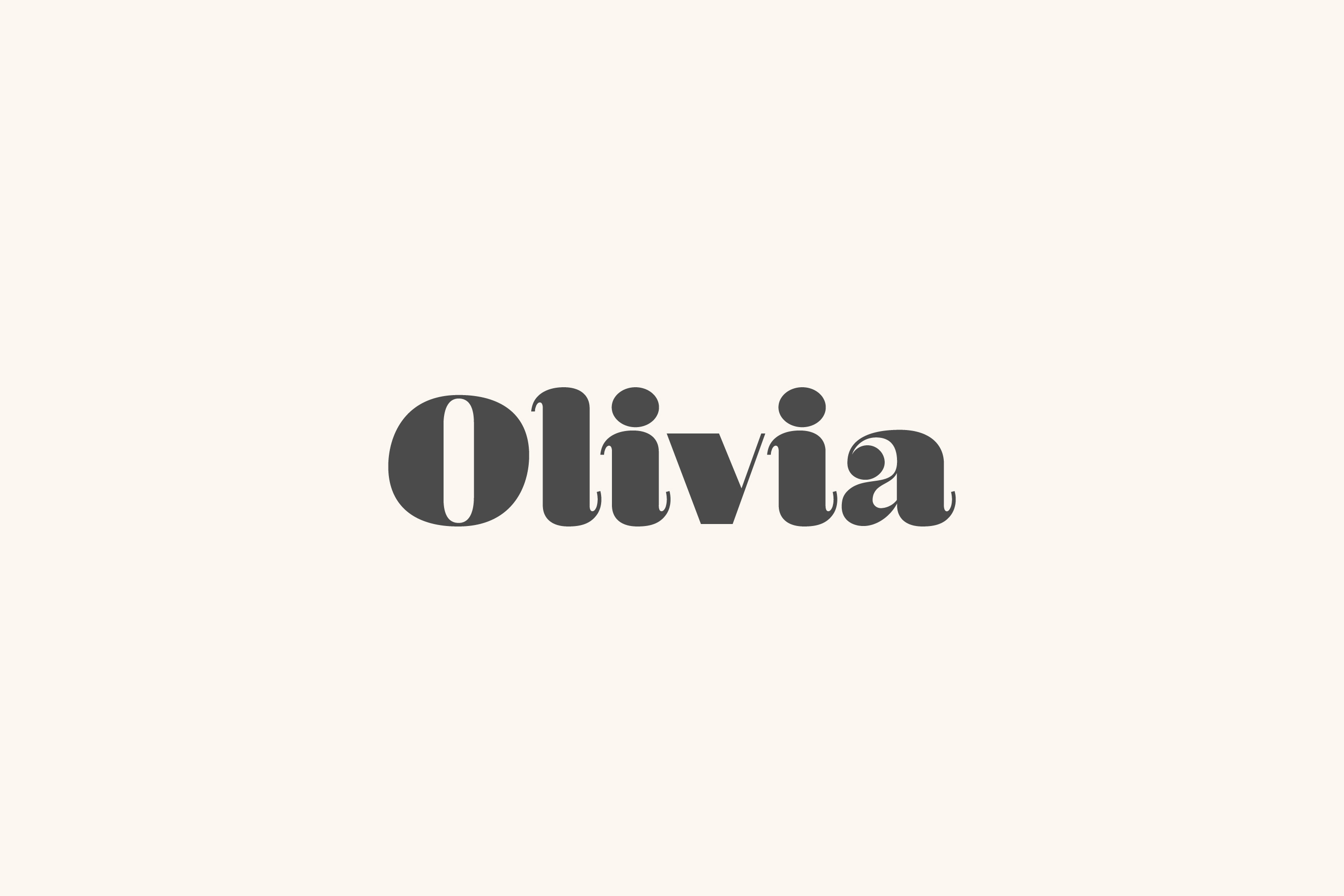 Olivia - A Curvy Typeface example image 1