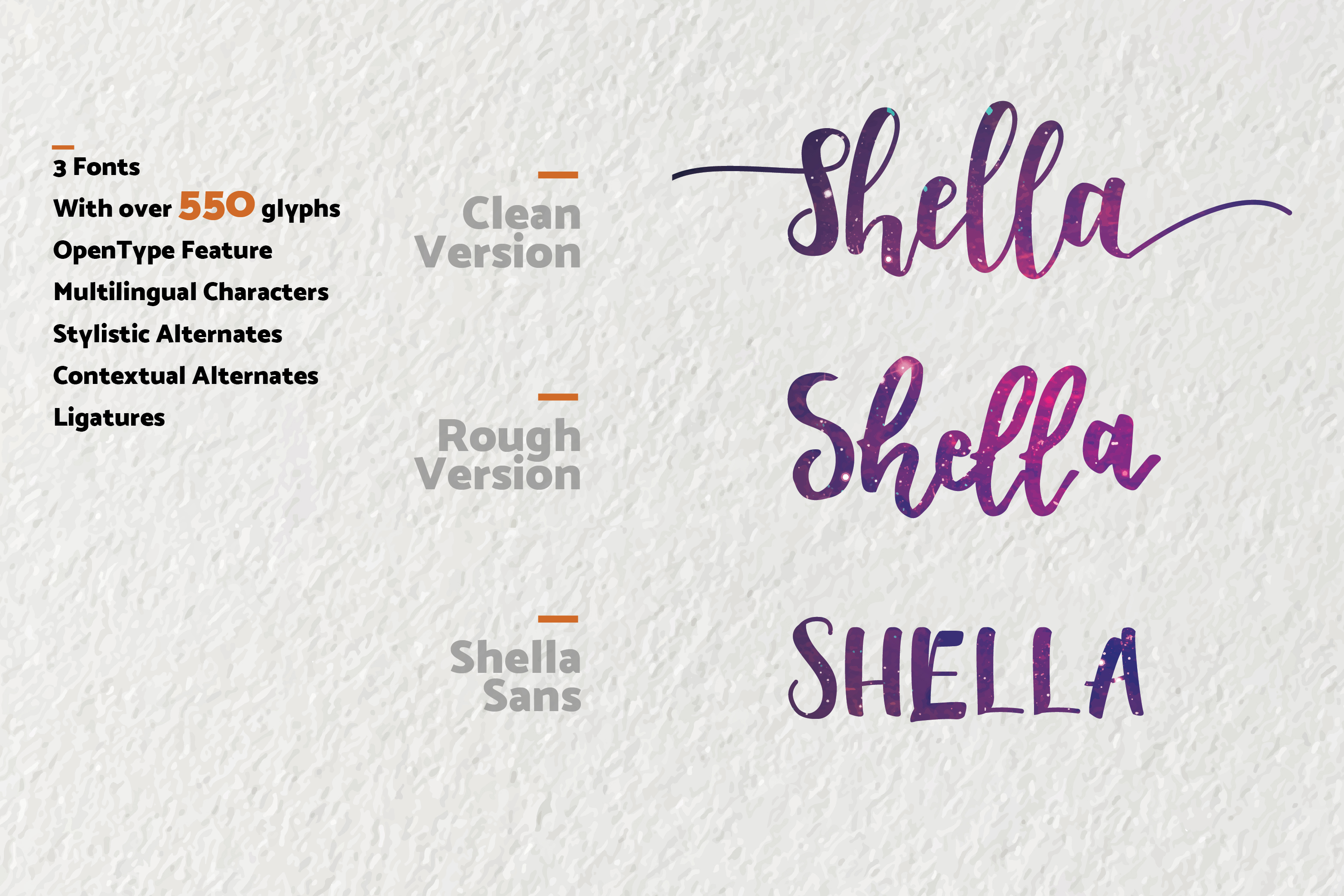 Shella Font Duo - Intro Sale ! example image 6