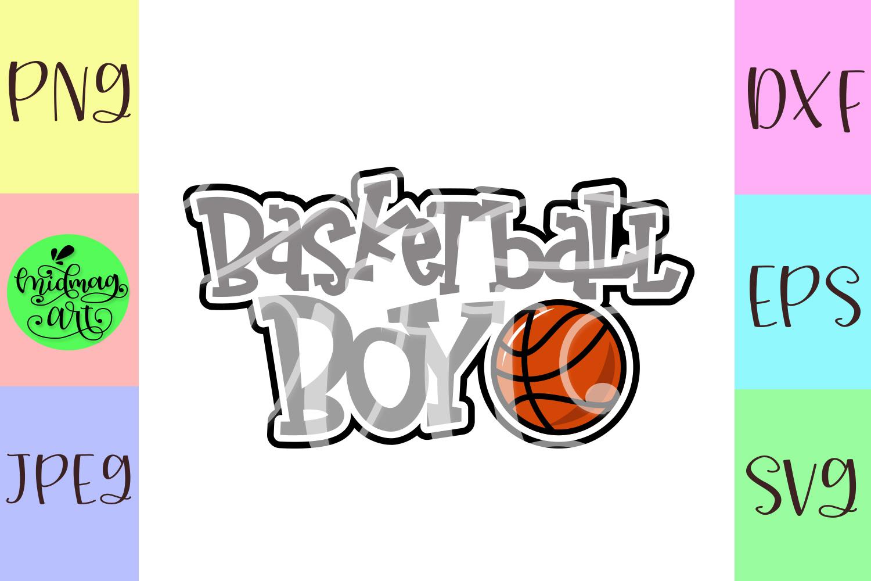 Basketball boy svg, basketball svg example image 2