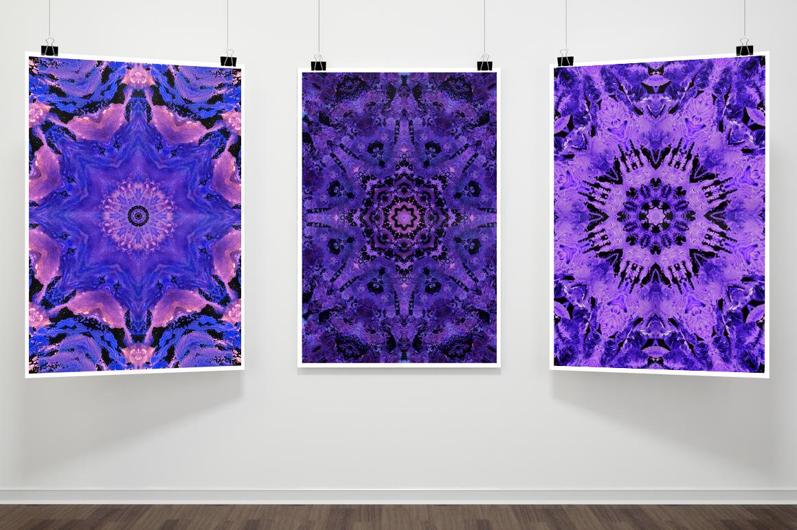 Purple MANDALAS Art example image 15