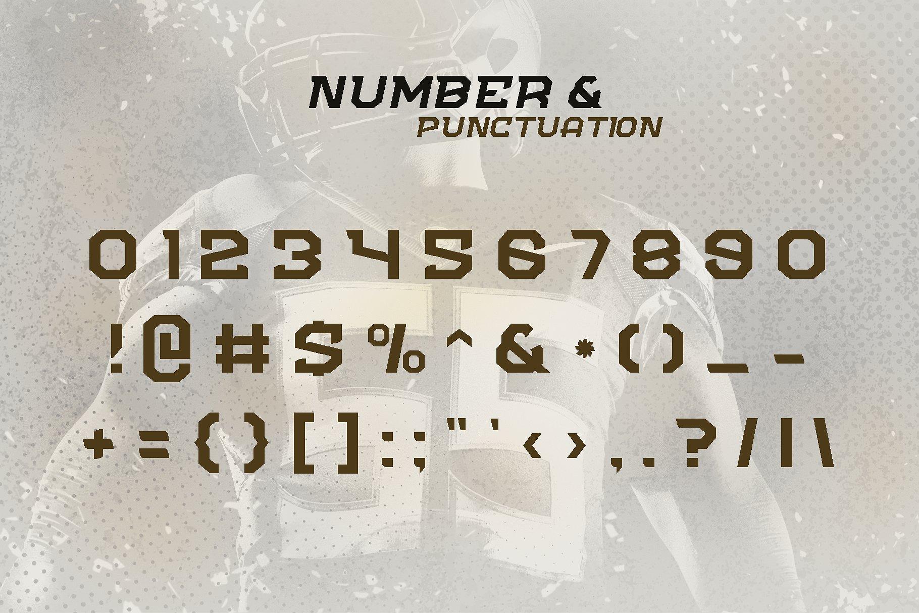 FLIPPER - NFC Font Family example image 4