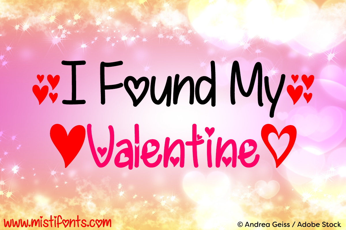 I Found My Valentine example image 1