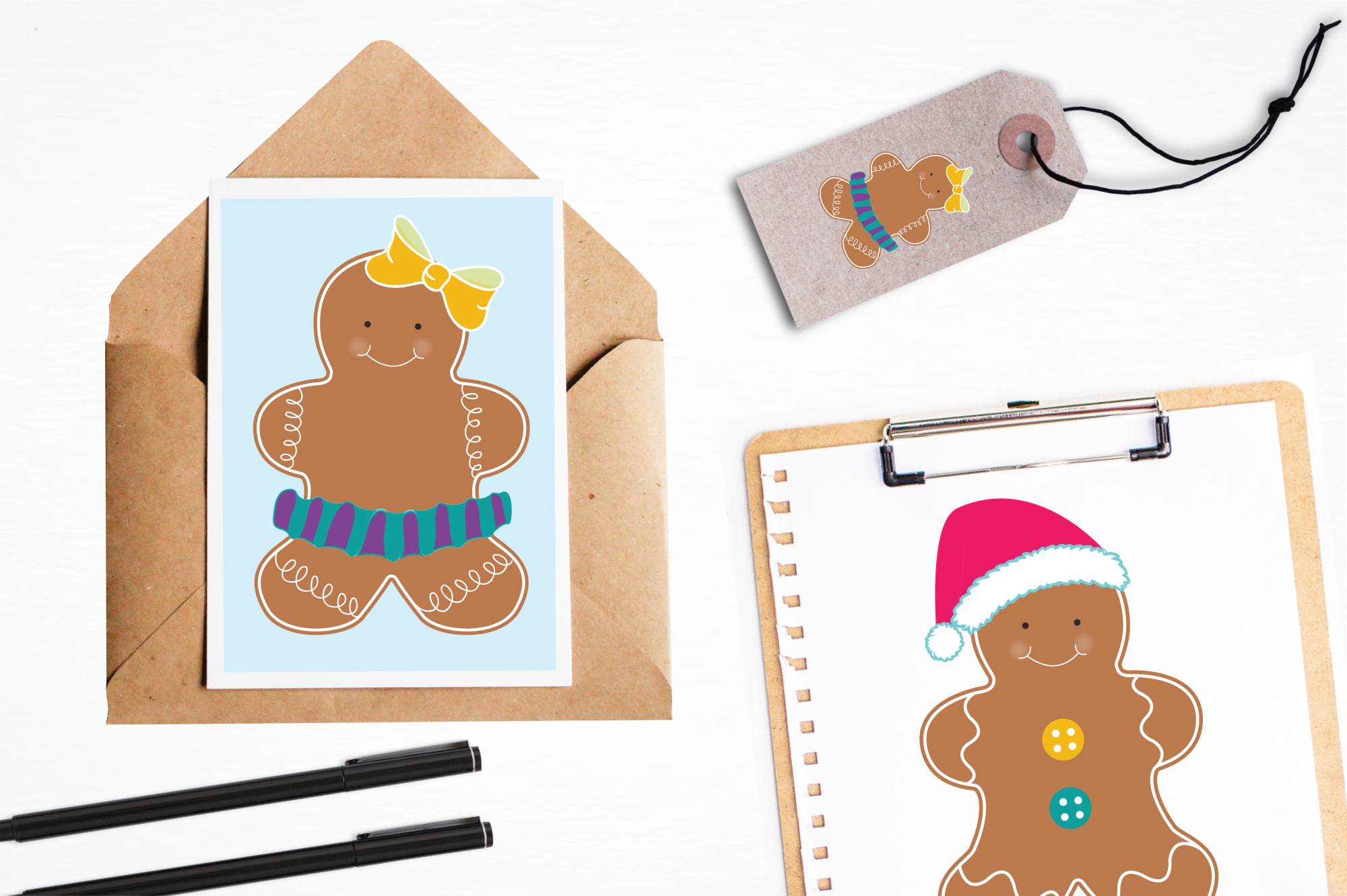 Gingerbread Colorful graphics and illustrations example image 4