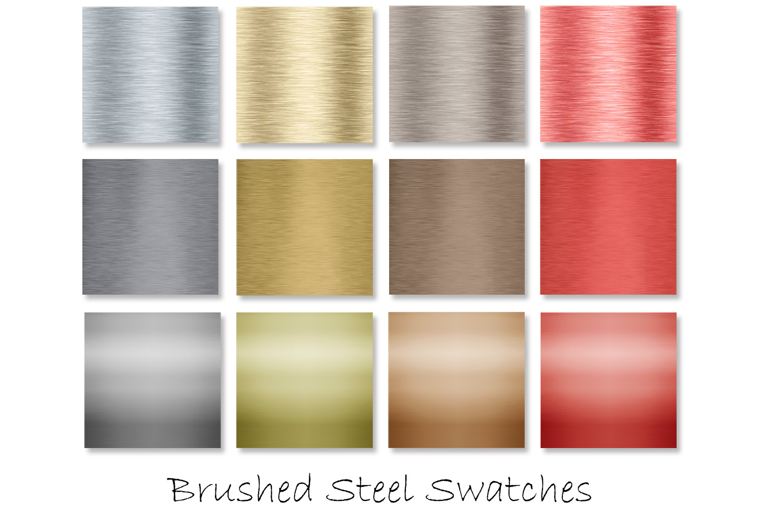 Brushed Steel Metal Textures - Metal Backgrounds example image 2