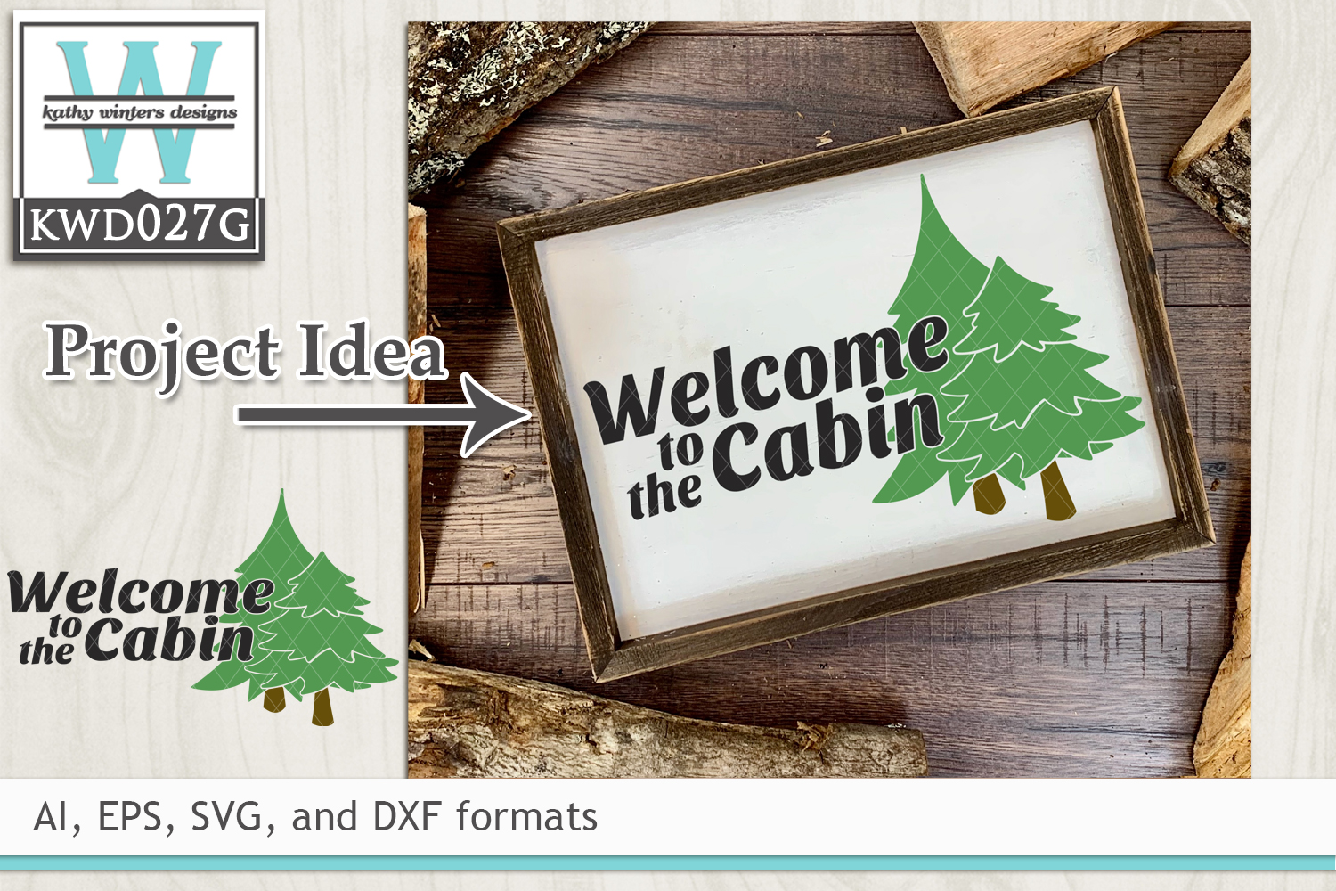 Outdoor Svg Welcome To The Cabin 144098 Cut Files Design Bundles