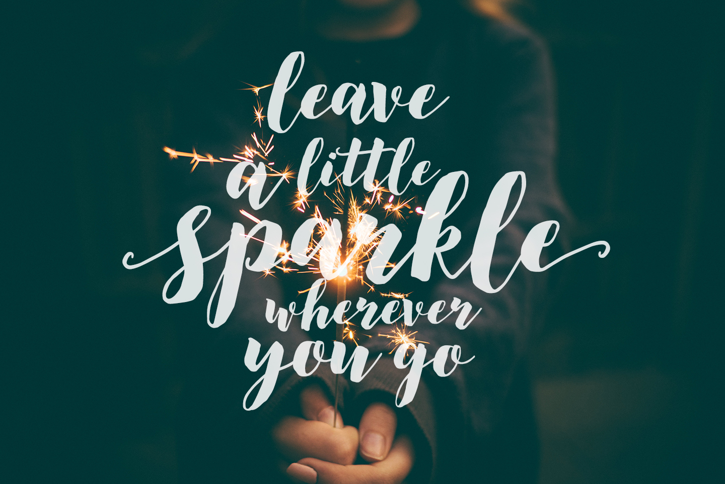 Modern brush calligraphy font, December Sparks example image 4