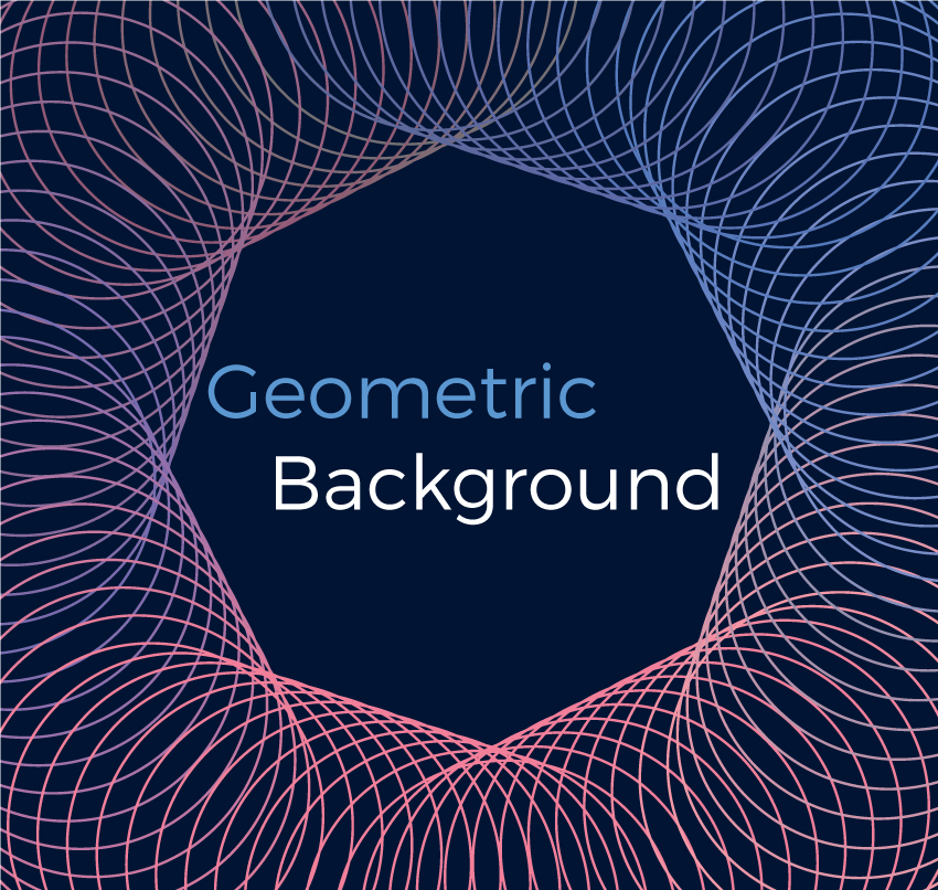 Geometric vector backgrounds example image 3