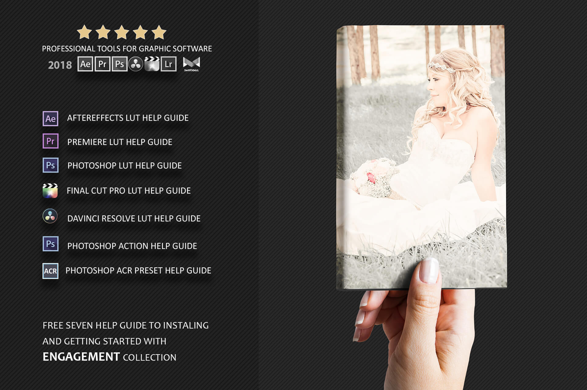 Engagement color grading lightroom presets theme example image 3