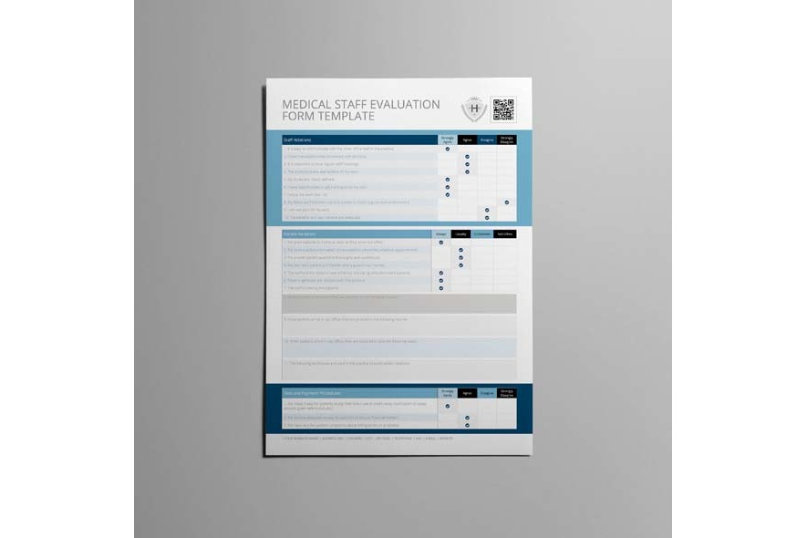 Medical Staff Evaluation Form Template example image 3
